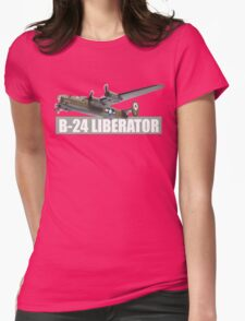 liberator b-24 Womens Fitted T-Shirt