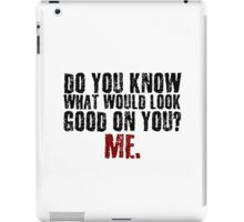 Funny Girlfriend Boyfriend Humor Relationship Joke iPad Case/Skin