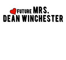 Supernatural : Future Mrs. Dean Winchester by necrophile