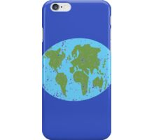 World map distressed Asia, Africa, Europe iPhone Case/Skin