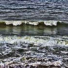 A Wave of reflection by Avril Harris