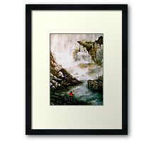 The Last Catch Framed Print