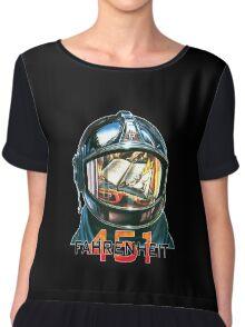 Fahrenheit 451 Fireman Chiffon Top