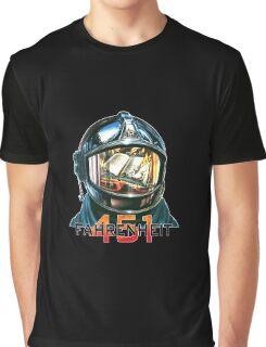 Fahrenheit 451 Fireman Graphic T-Shirt