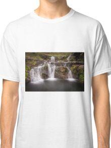 Pen y fan waterfall Classic T-Shirt