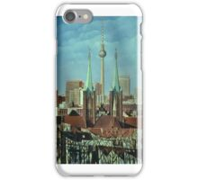 Berlin-Panorame Kreuzberg iPhone Case/Skin