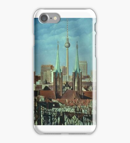 Berlin-Panorame Kreuzberg iPhone Case/Skin
