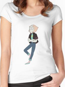 Cool Pearl Women's Fitted Scoop T-Shirt