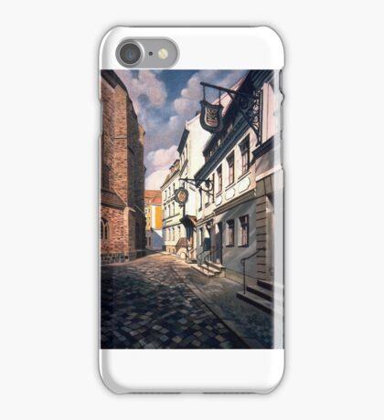 Nikolaikirchplatz iPhone Case/Skin