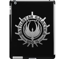 Battlestar Galactica - Chrome Logo iPad Case/Skin