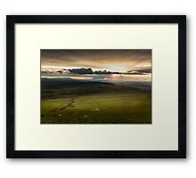 The Brecon Beacons in south Wales. Framed Print