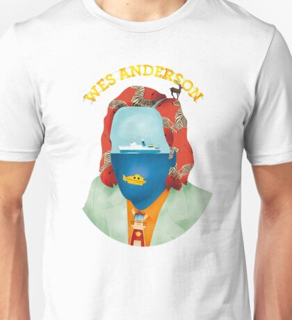 Wes Anderson's world Unisex T-Shirt