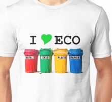 I LOVE ECO. Unisex T-Shirt