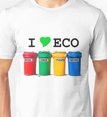 I LOVE ECO. Unisex T-Shirt