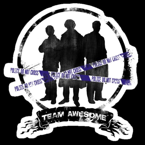 The Dream Team: Sherlock, Watson, Lestrade by Noxika