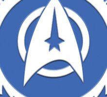Star Trek - UFP Starfleet Command Sticker
