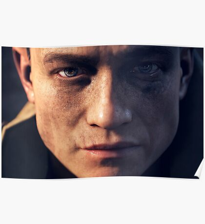 Battlefield 1 | Face | Skins and prints Poster