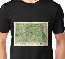 USGS TOPO Map Arkansas AR Little Rock 260600 1956 250000 Unisex T-Shirt