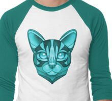 Minty Bengal Men's Baseball ¾ T-Shirt