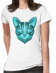 Minty Bengal Womens Fitted T-Shirt