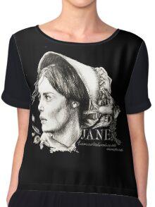 Jane Eyre Chiffon Top