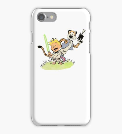 Calvin and Hobbes Star Wars iPhone Case/Skin
