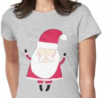 Boogie like Father Christmas Womens Fitted T-Shirt