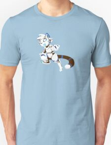 RoboKitty - Tiger stripes Unisex T-Shirt