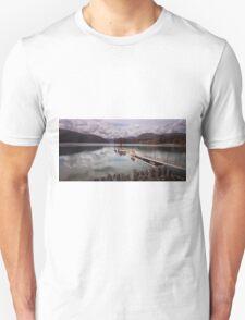 Comox Lake jetty Vancouver island T-Shirt