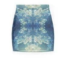 winter sun leak snow tree kaleidoscope Mini Skirt