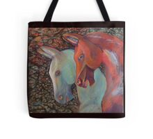 Coloured Equine Treasurers Tote Bag