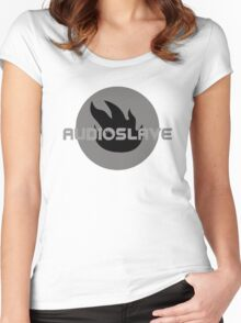 audioslave Women's Fitted Scoop T-Shirt