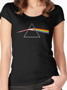 The Dark Side of the Lightsaber Women's Fitted Scoop T-Shirt
