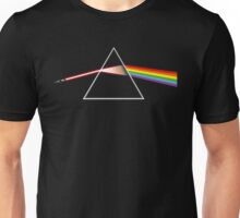 The Dark Side of the Lightsaber Unisex T-Shirt