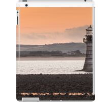 Whitford point lighthouse Wales iPad Case/Skin