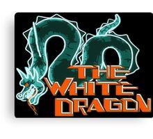 blade runner white dragon Canvas Print