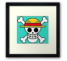 One piece Flag Framed Print