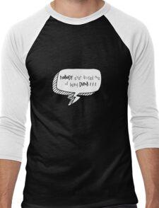 Dumb Men's Baseball ¾ T-Shirt