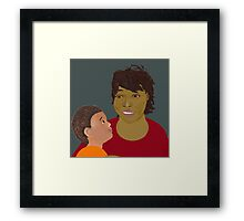 Guess What? I Love You Framed Print