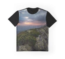 Gloomy morning in Carpahians Graphic T-Shirt