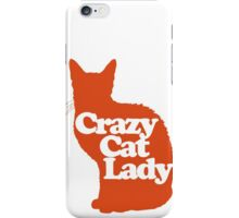 Crazy cat Lady iPhone Case/Skin