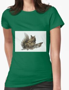 Squirrel Ink Womens Fitted T-Shirt