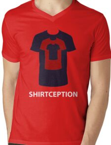 Shirtception - Mind Bending Design Mens V-Neck T-Shirt