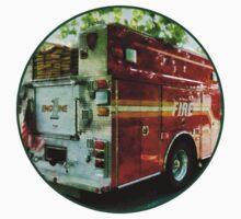 Back Of Fire Truck Kids Tee