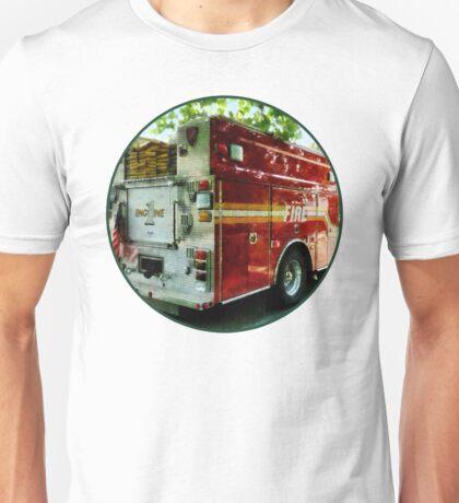 Back Of Fire Truck Unisex T-Shirt
