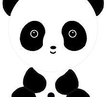 Cute Panda Bear by BeachBumFamily