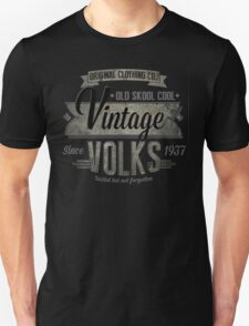 NEW Men's Vintage Car T-Shirt Unisex T-Shirt