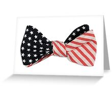 God Bless America - Bow Tie Greeting Card