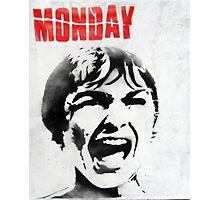 Monday Photographic Print