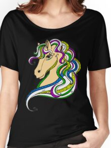 Colouring Book Horse 03 Women's Relaxed Fit T-Shirt